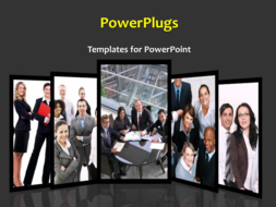 PowerPoint Template - Business background